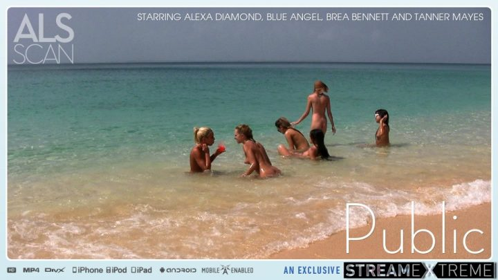 Alsscan.com – Public Alexa Diamond & Blue Angel & Brea Bennett 2010 Pee