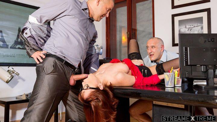 Private.com – Sexy Secretary Tina Goes down on.. Tina Hot 2015 Brunettes