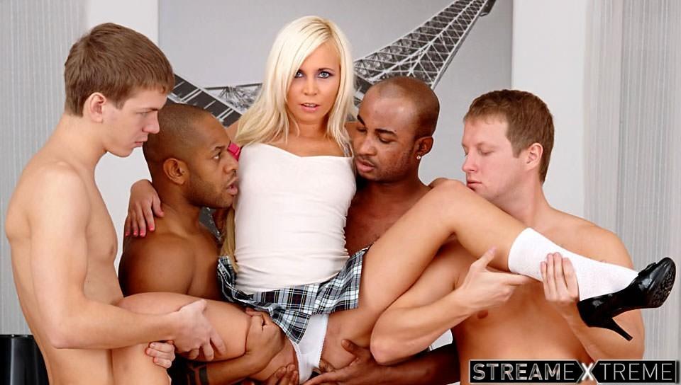 gangbang sex scener