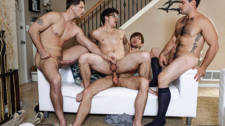 Jizzorgy.com – The Purge Aspen & Dalton Briggs & Roman Todd 2016 Gay Porn