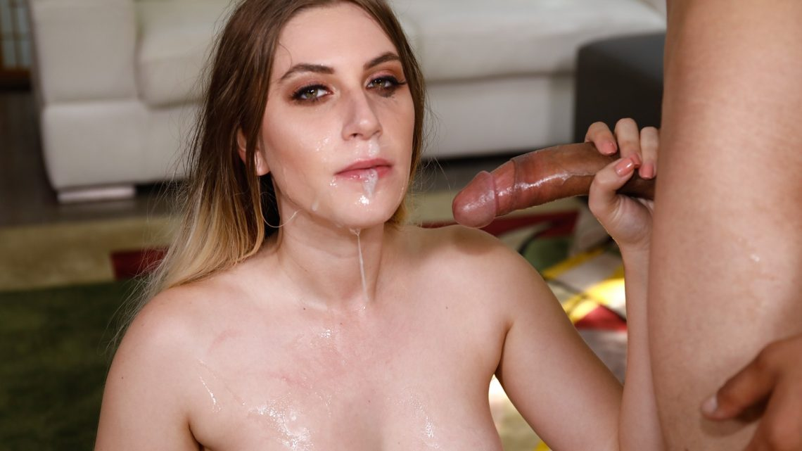 Throated.com – What Can That Mouth Do? Nikki Snow 2017 Saliva