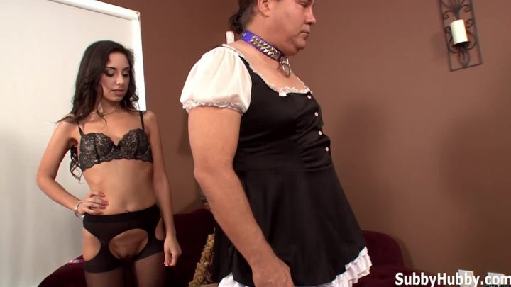 Subbyhubby.com – Perverted Stepdaddy Cuckolding.. Trinity St. Clair 2013 Crossdressing