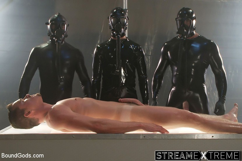 Boundgods.com – They Cum from Outer Space – Part.. Spencer Reed & Josh West & Jackson Lawless 2011 Submission