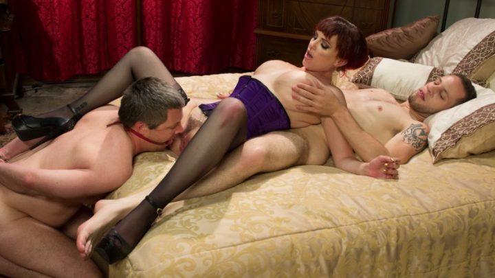 Divinebitches.com – All Night Cuckolding Fuck Fest Mz Berlin & Wolf Hudson & Jimmy Broadway 2013 Humiliation