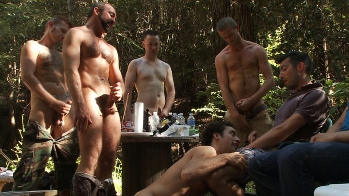 Boundinpublic.com – Use and Abuse a Camp Whore Josh West & DJ 2011 Boot Worship
