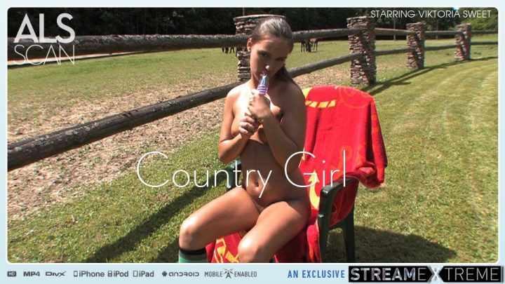 Alsscan.com – Country Girl Viktoria Sweet 2009 Dildo