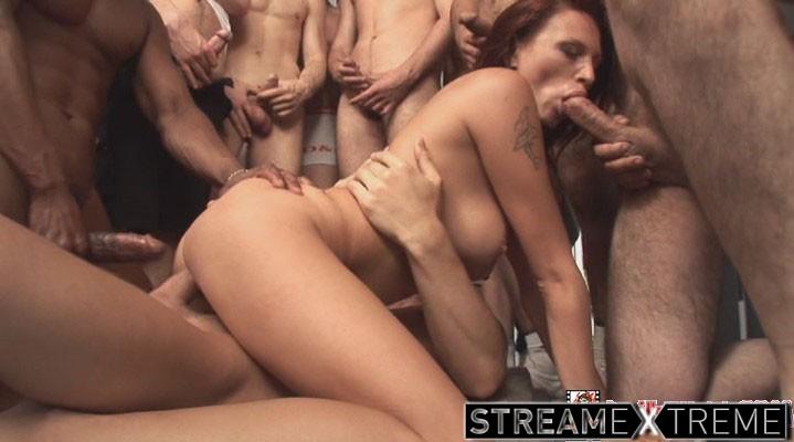 Devilsfilm.com – 50 Guy Cream Pie #07, Scene #02 Kristine 2009 Natural Tits