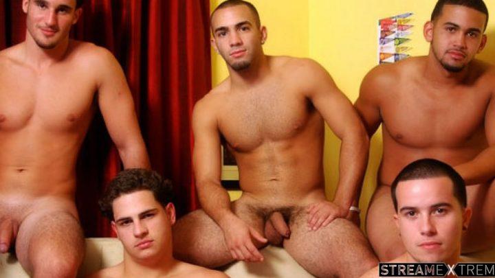 Circlejerkboys.com – 5 Guys Named… Marcus Guitarro & Jay & Mateo Grande 2009 Gay Porn
