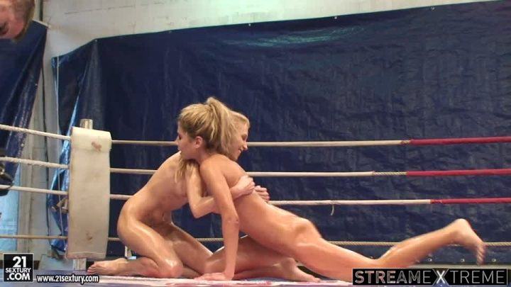 21sextury.com – NudeFightClub backstage with.. Ioana & Babette 2011 Brunette