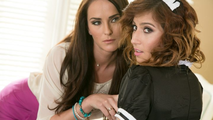 Girlsway.com – The Au Pair Conflict: Part One April O'Neil & Bianca Breeze 2015 Natural Tits