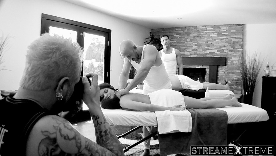 Trickyspa.com – BTS-Training Daddy's Girl Brooklyn Chase & Will Powers & James Bartholet 2014 Behind The Scenes