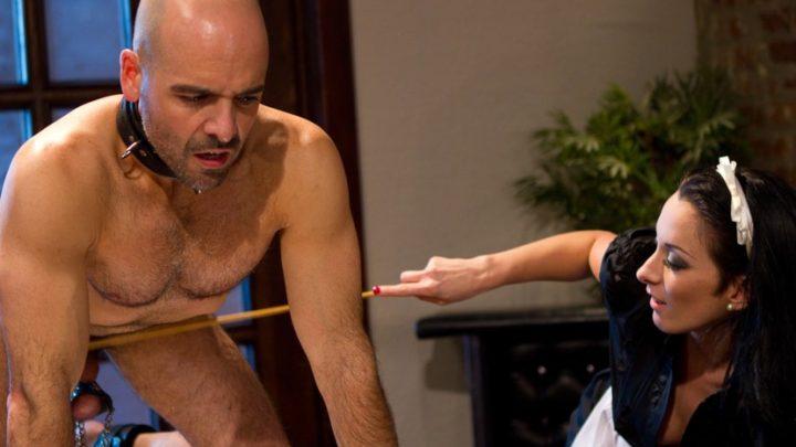 Divinebitches.com – She Maid Him Do It January Seraph & Adam Russo 2011 Slave