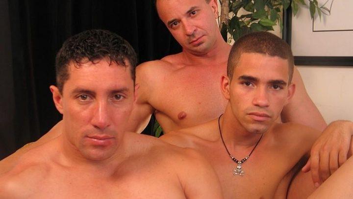 Extrabigdicks.com – Holy Muscle Batman! Magnus & Diego & Angel 2006 Gay Porn