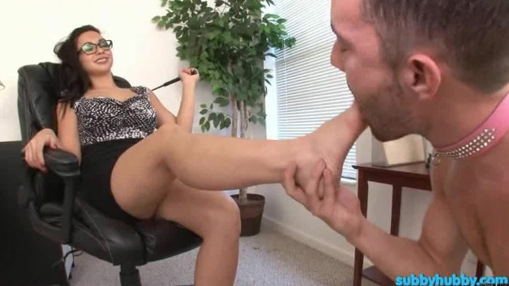 Subbyhubby.com – Reamed By The Boss Part 2 Kimmy Lee 2013 Foot Worship
