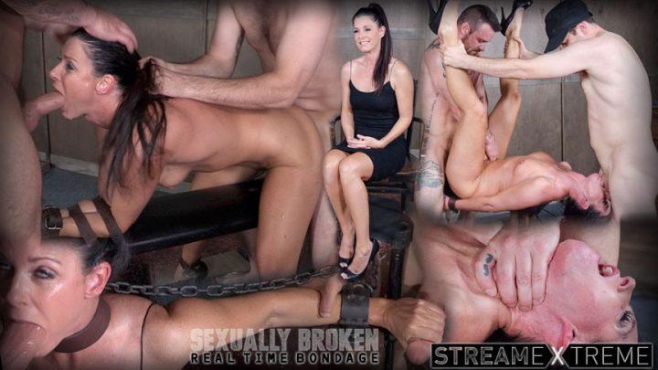 Sexuallybroken.com – India Summer's Recorded Live feed.. India Summer & Matt Williams & Sergeant Miles 2017 Deep Throat Porn Star