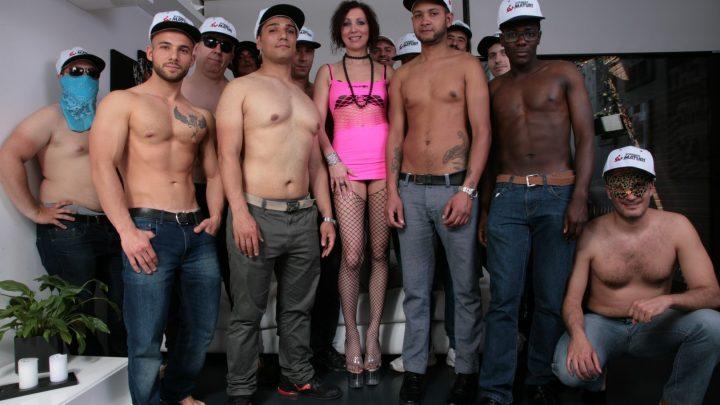 Scambistimaturi.com – Huge interracial Italian gangbang.. Sissy Neri & Max Ferri & Valerio Ghinness 2019 Black On White