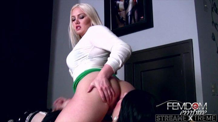 Femdomempire.com – Bound Like a Bitch Lexi Sindel 2012 Milking