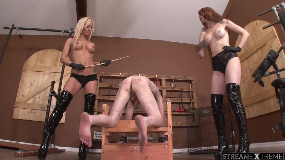 Clubdom.com – Mistress Caning Servant Kendra James 2014 Caning