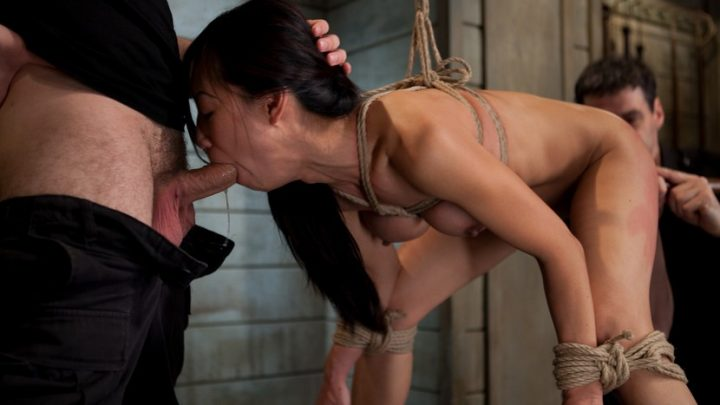 Thetrainingofo.com – The Training of Tia Ling, Day One Tia Ling & Wolf Hudson 2010 Oral Sex