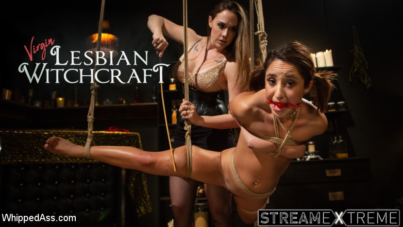 Whippedass.com – Virgin Lesbian Witchcraft: Chanel.. Chanel Preston & Isabella Nice 2018 Harness