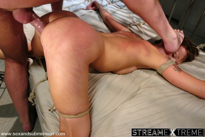 Sexandsubmission.com – Interrogate Mark Davis & Sara Faye 2007 Rope Bondage