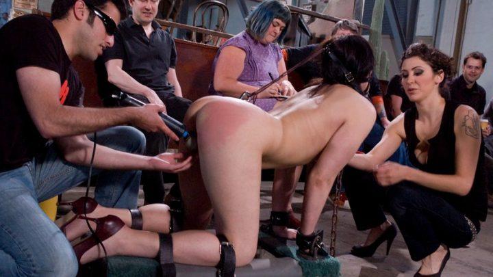 Publicdisgrace.com – First Timer Raina Verene & Maestro 2009 Corporal Punishment