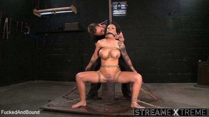 Fuckedandbound.com – Tattooed and Tied up! TJ Cummings & Mason Moore 2012 Gag