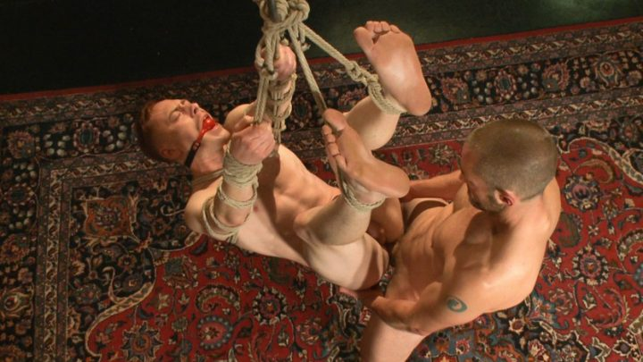 Boundgods.com – The Initiation of Damien Moreau Damien Moreau & Adam Herst 2013 Rimming