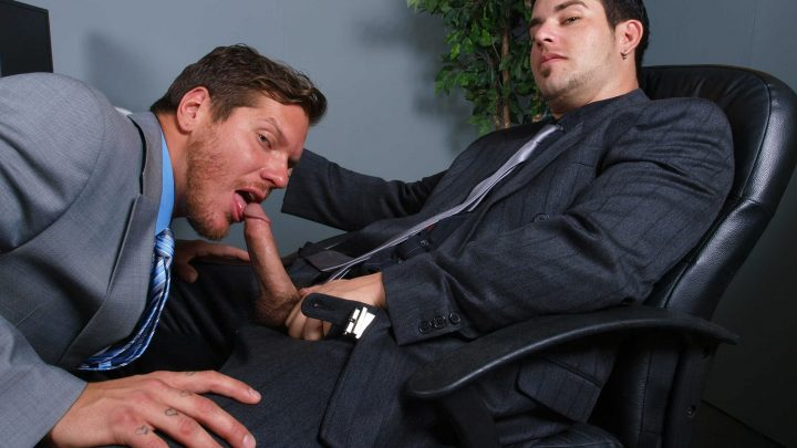 Thegayoffice.com – Alternative Payment Derrick Vinyard & Parker London 2011 Gay Porn