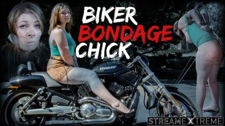 Hardtied.com – Biker Bondage Chick Harley Ace & Jack Hammer 2015 Vibrator